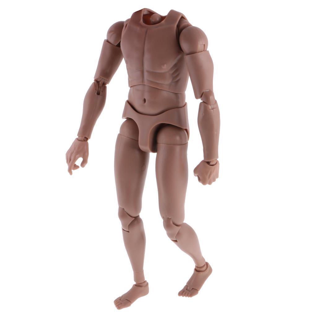 Hot Custom Muscular 1/6 Toys Scale nude Body TTM19 Hit