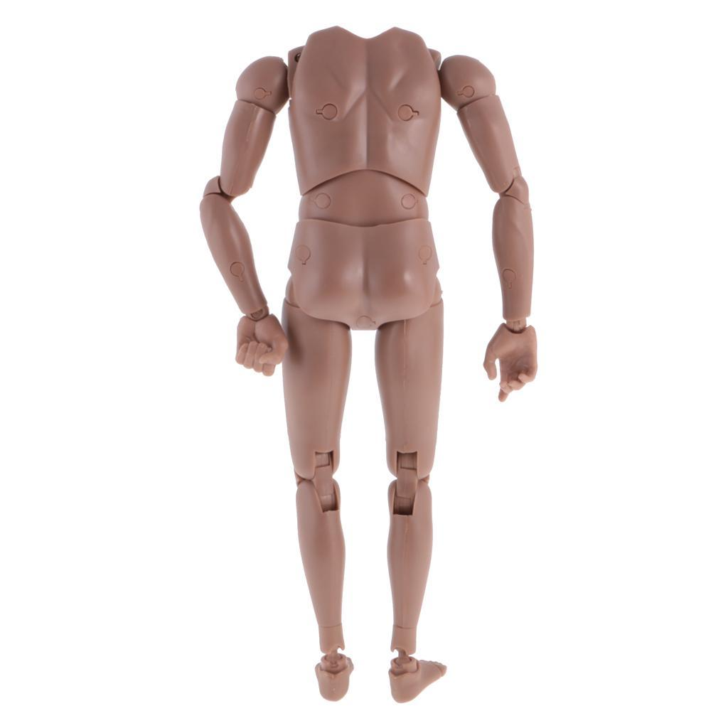 1-6th-Action-Figure-Muscular-Muscle-Male-Nude-Body-for-Hot-Toys-TTM18-TTM19-Head thumbnail 21