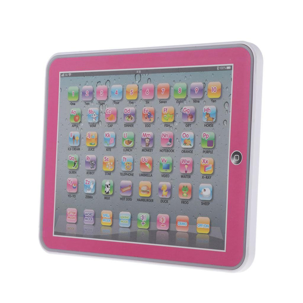 MagiDeal Learning Pad Toddler Learning Games Touch ...