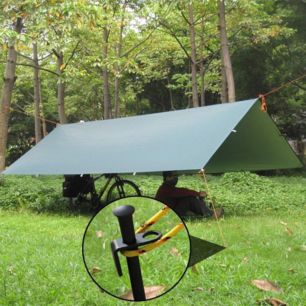 """Lot de 12 9/"""" Plastique piquets de tente enjeux pour l/'extérieur Camping"""