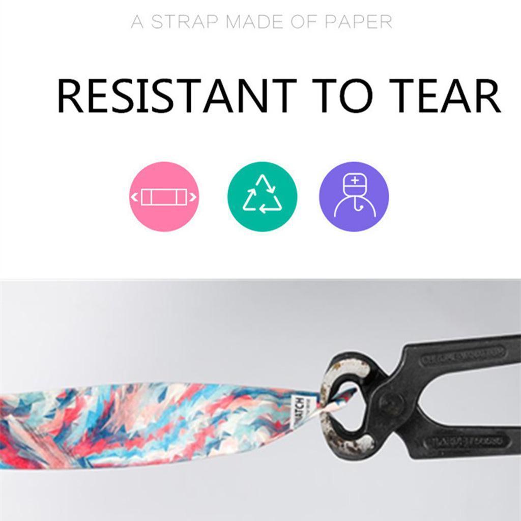 Newspaper-White-LED-Digital-Watch-Mens-Women-Waterproof-Strap-Paper-Sport miniature 12