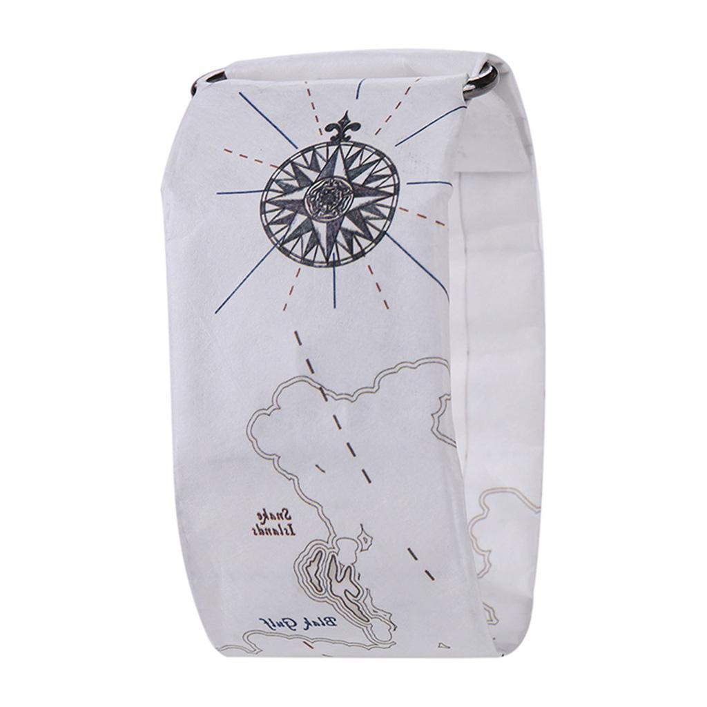 Newspaper-White-LED-Digital-Watch-Mens-Women-Waterproof-Strap-Paper-Sport miniature 88