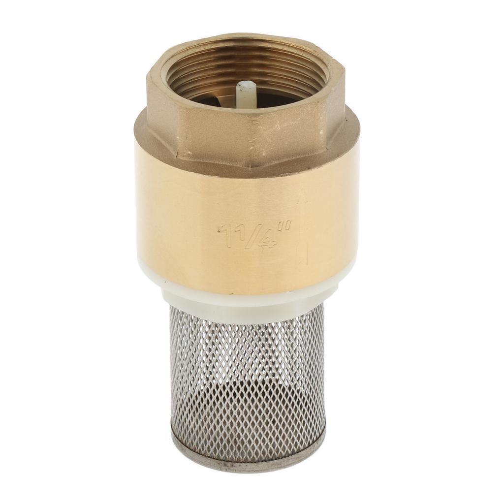 Valvola-Ritegno-A-Rete-Con-Filtro-Water-Valve-Fondo-di-Tubazione miniatura 17