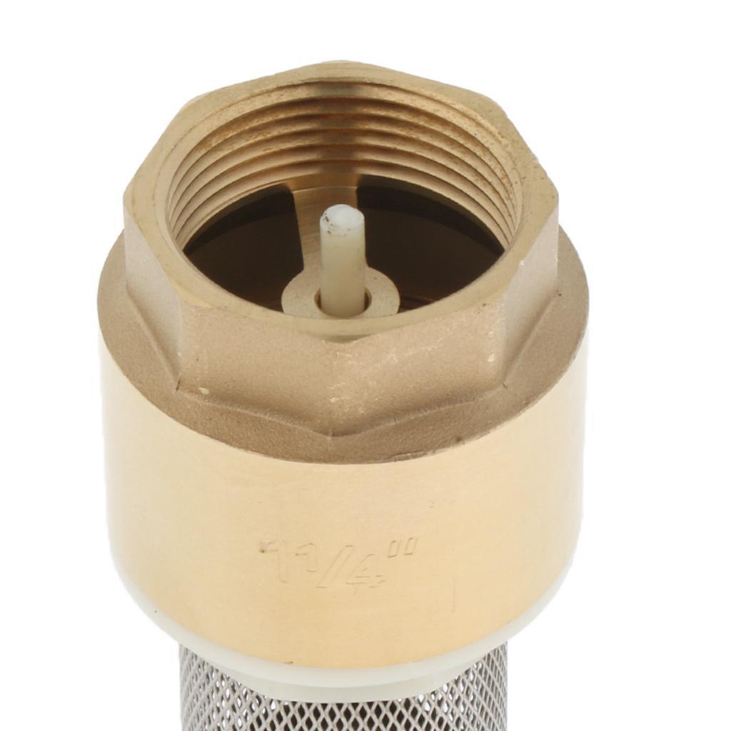 Valvola-Ritegno-A-Rete-Con-Filtro-Water-Valve-Fondo-di-Tubazione miniatura 18