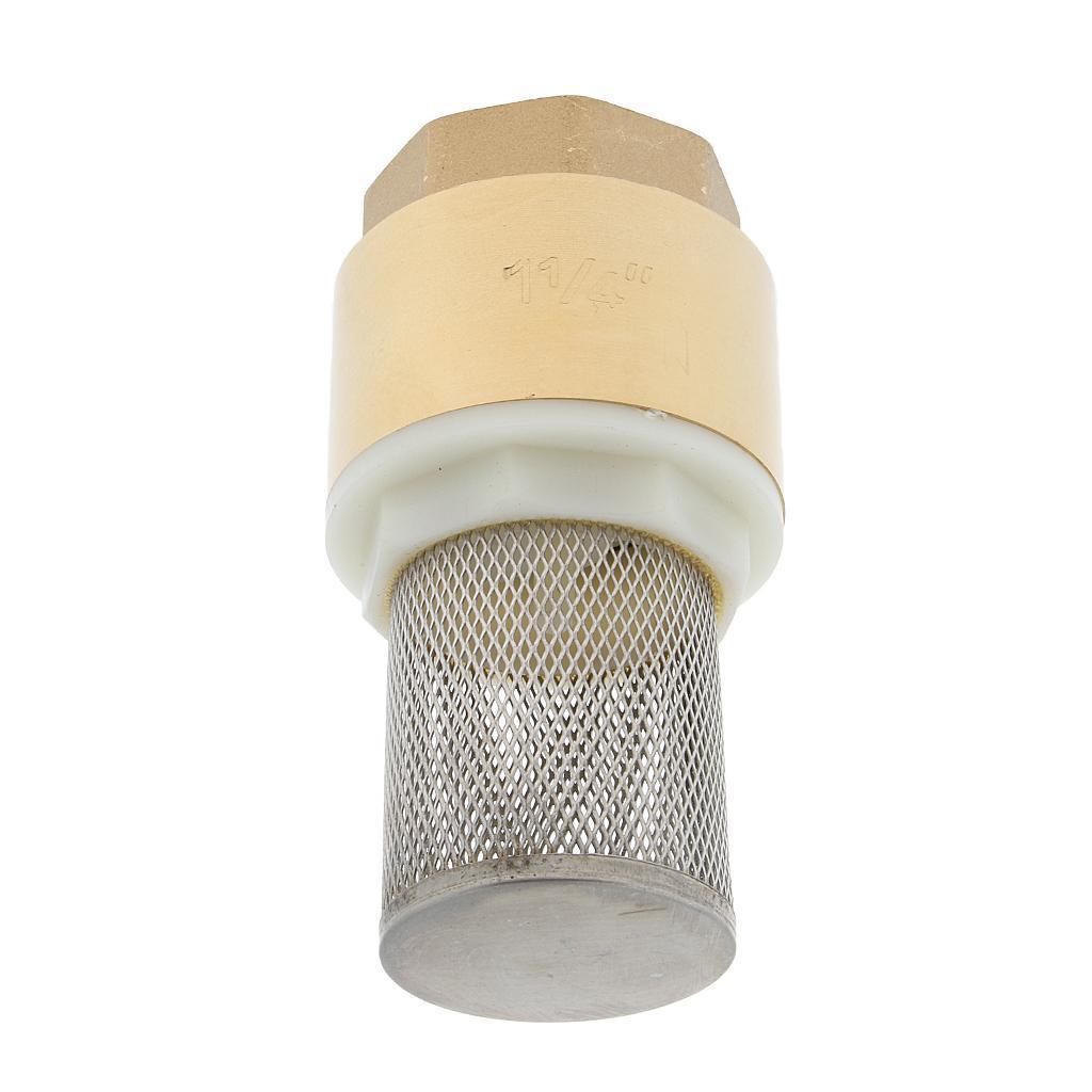 Valvola-Ritegno-A-Rete-Con-Filtro-Water-Valve-Fondo-di-Tubazione miniatura 19