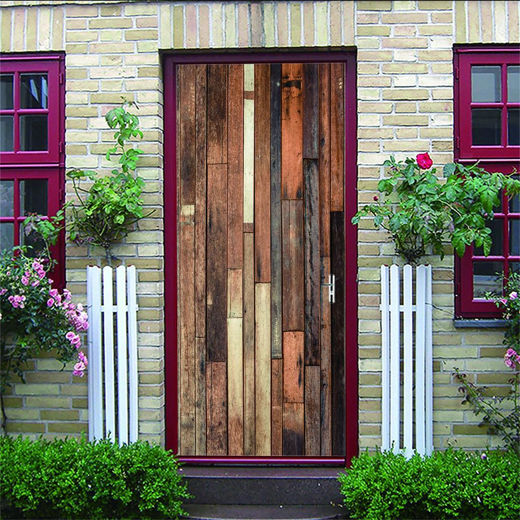 thumbnail 49 - 3D Self Adhesive Door Sticker DIY Decor Poster for Home Room Decor