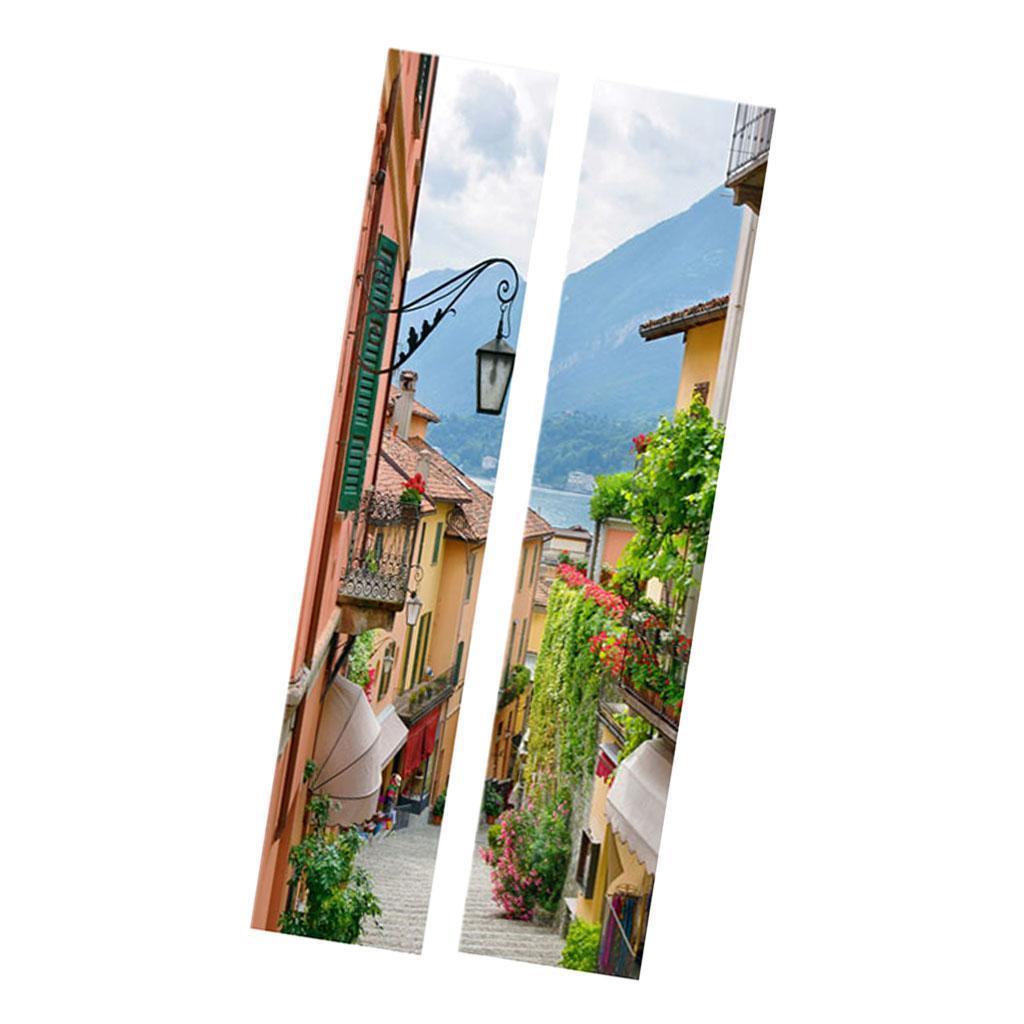 thumbnail 52 - 3D Self Adhesive Door Sticker DIY Decor Poster for Home Room Decor