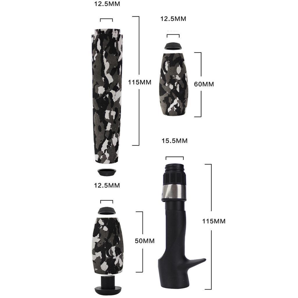 Parti-di-ricambio-per-la-costruzione-di-canne-da-pesca-in-sughero-leggero miniatura 22