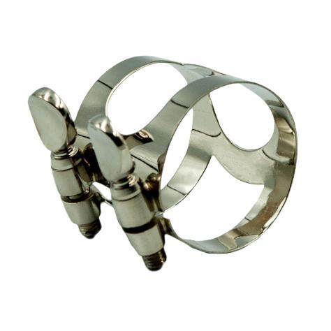 Soprano-Alto-Tenor-Saxophone-Ligature-Clip-Silver-for-Sax-Replacement-Parts thumbnail 7