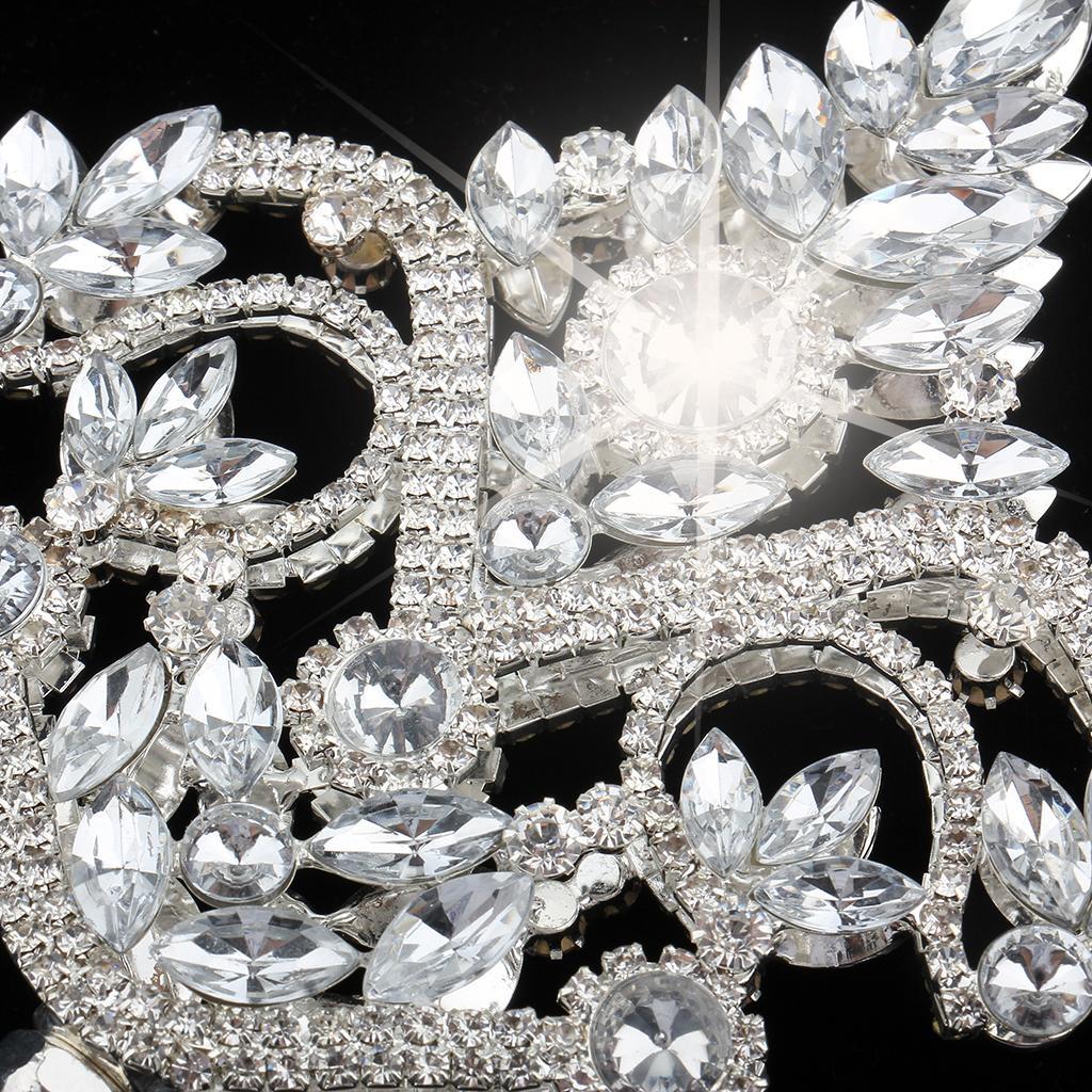 Fairy Princess Queen Cross Tulip Crystals Flower Wand Magic Scepter Fancy Dress