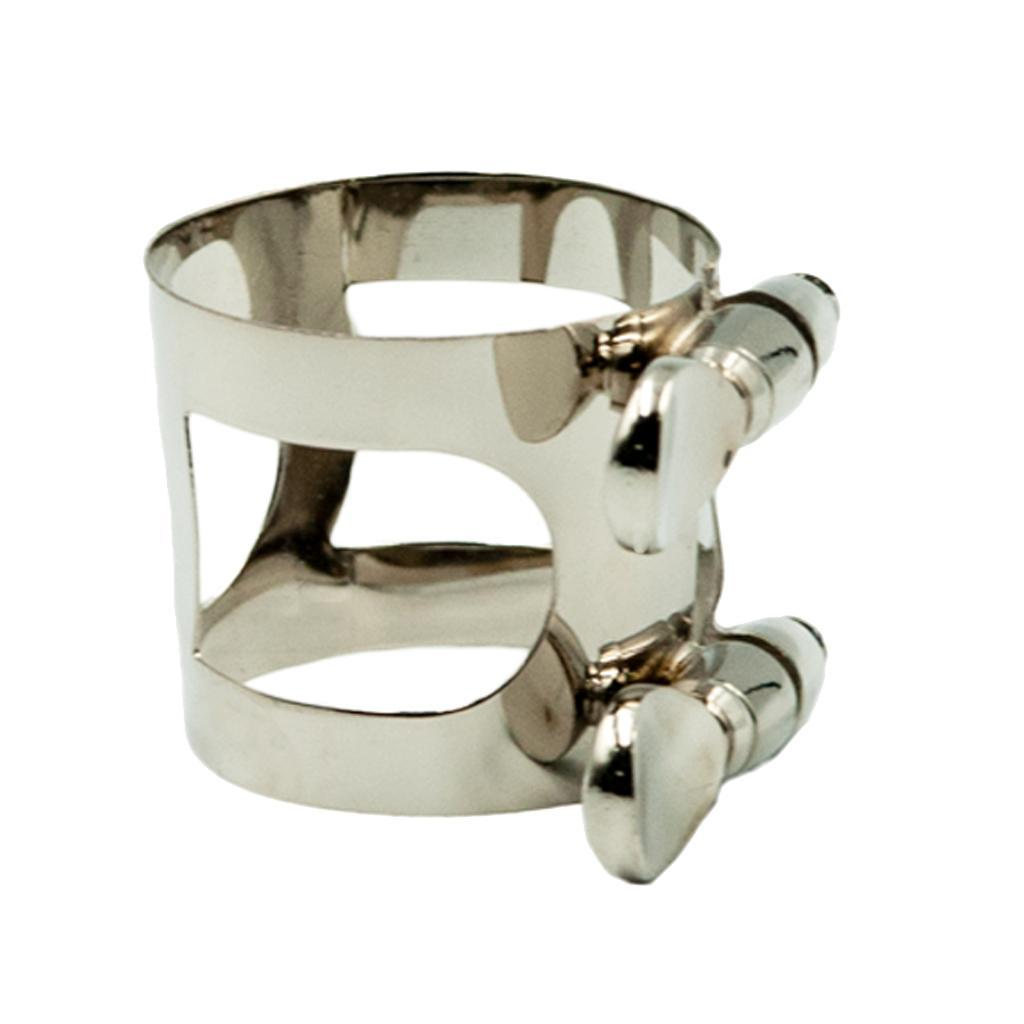 Soprano-Alto-Tenor-Saxophone-Ligature-Clip-Silver-for-Sax-Replacement-Parts thumbnail 10