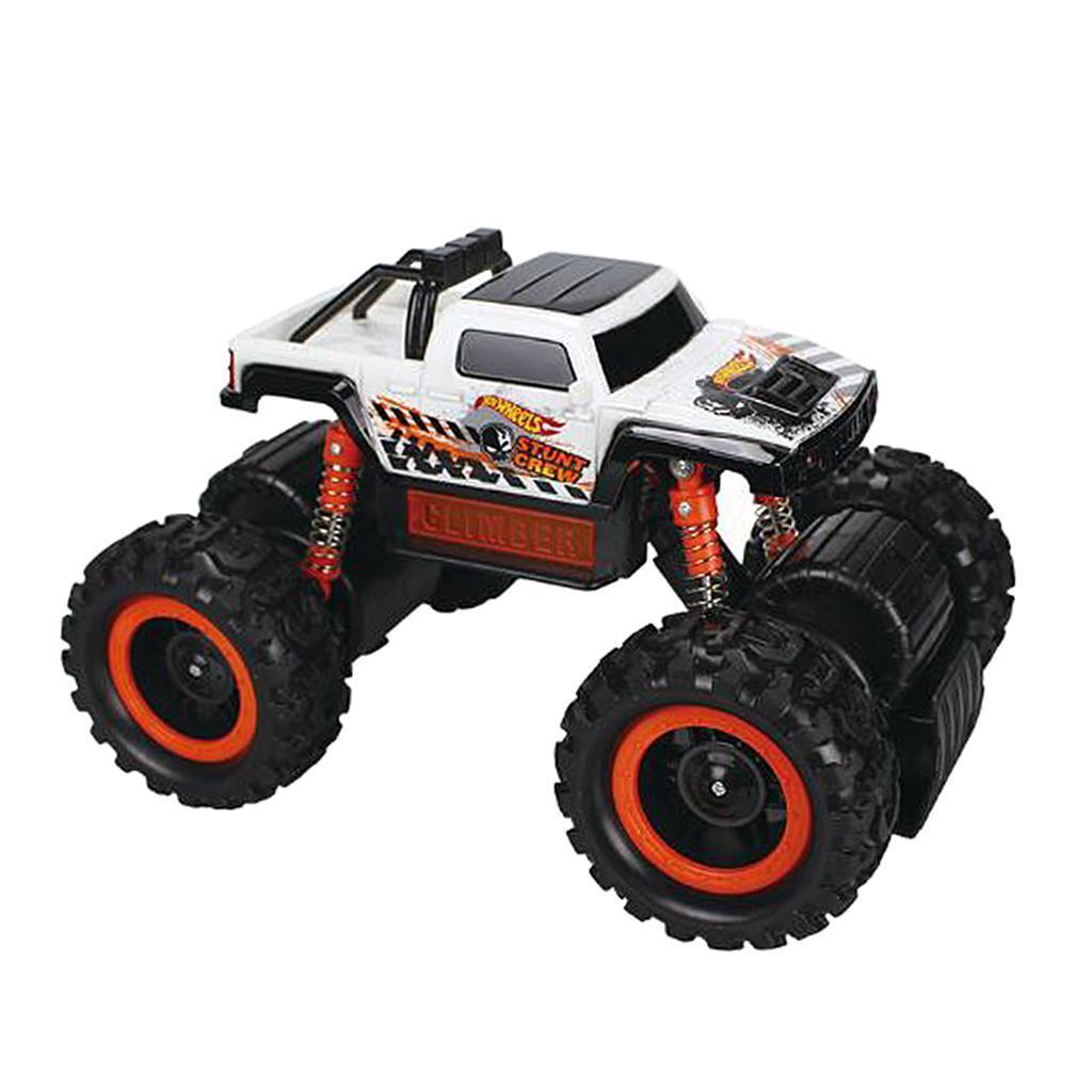 4-Wheel Drive Diecas Truck Big Tire Wheel Inertia Car Toys ...