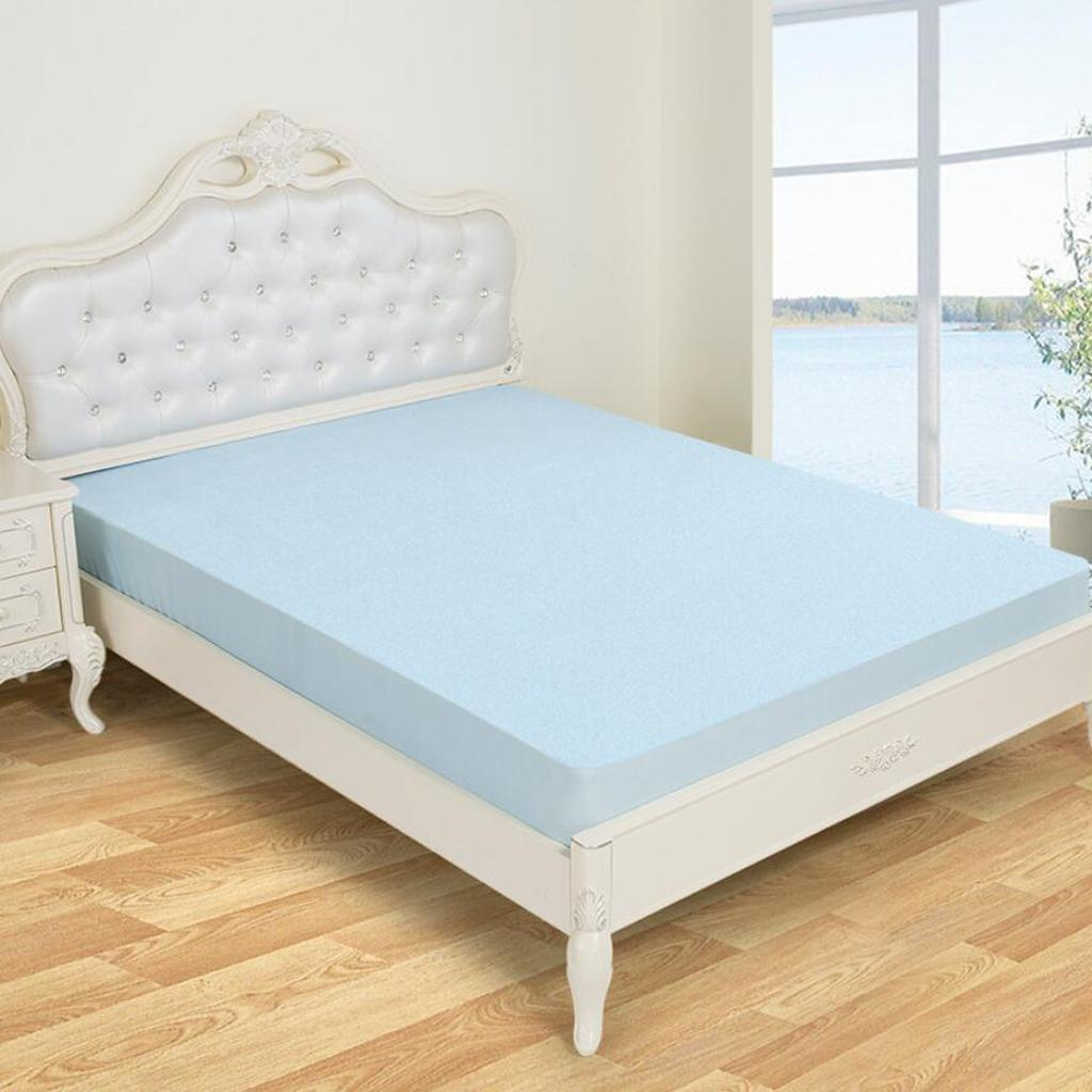 12u0027 Deep Quilted Waterproof Mattress Protector Fitted Bedding Cover Sheets