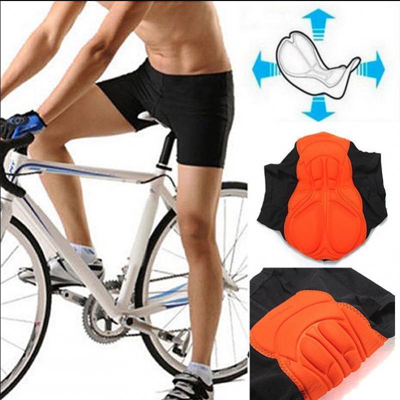Outdoor Mens Cycling 3//4 Three Quarter Legging Capris Pants Shorts Padded Tights